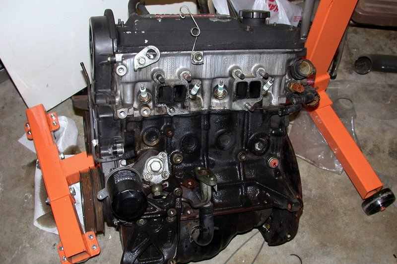 Ete on 1995 Toyota Tercel Engine