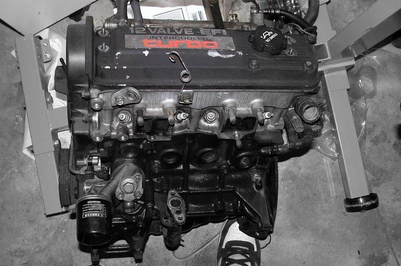 Ete on 1989 Toyota Tercel Engine